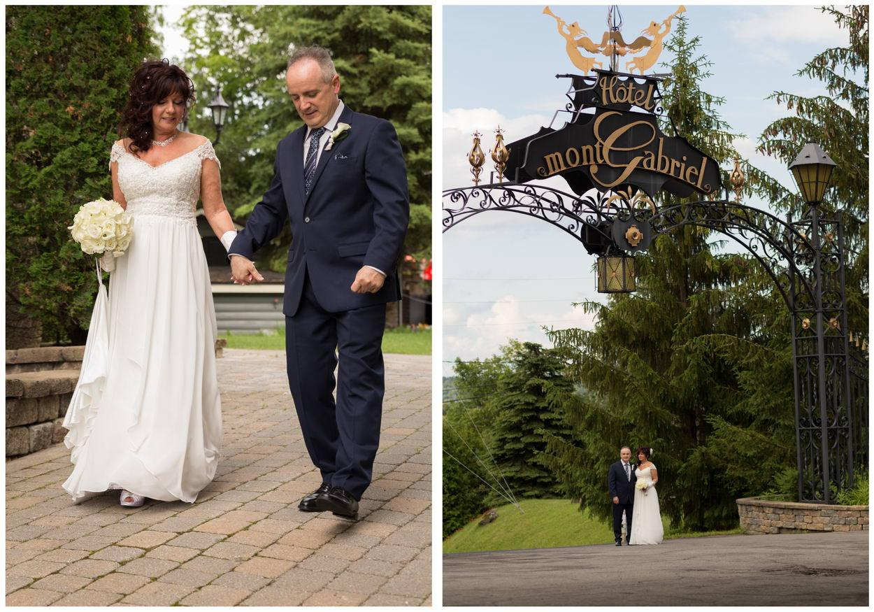 photos couple Mariage Laurentides